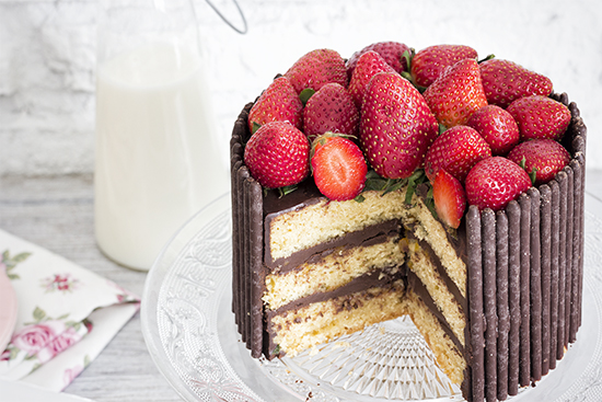 Mikado Cake